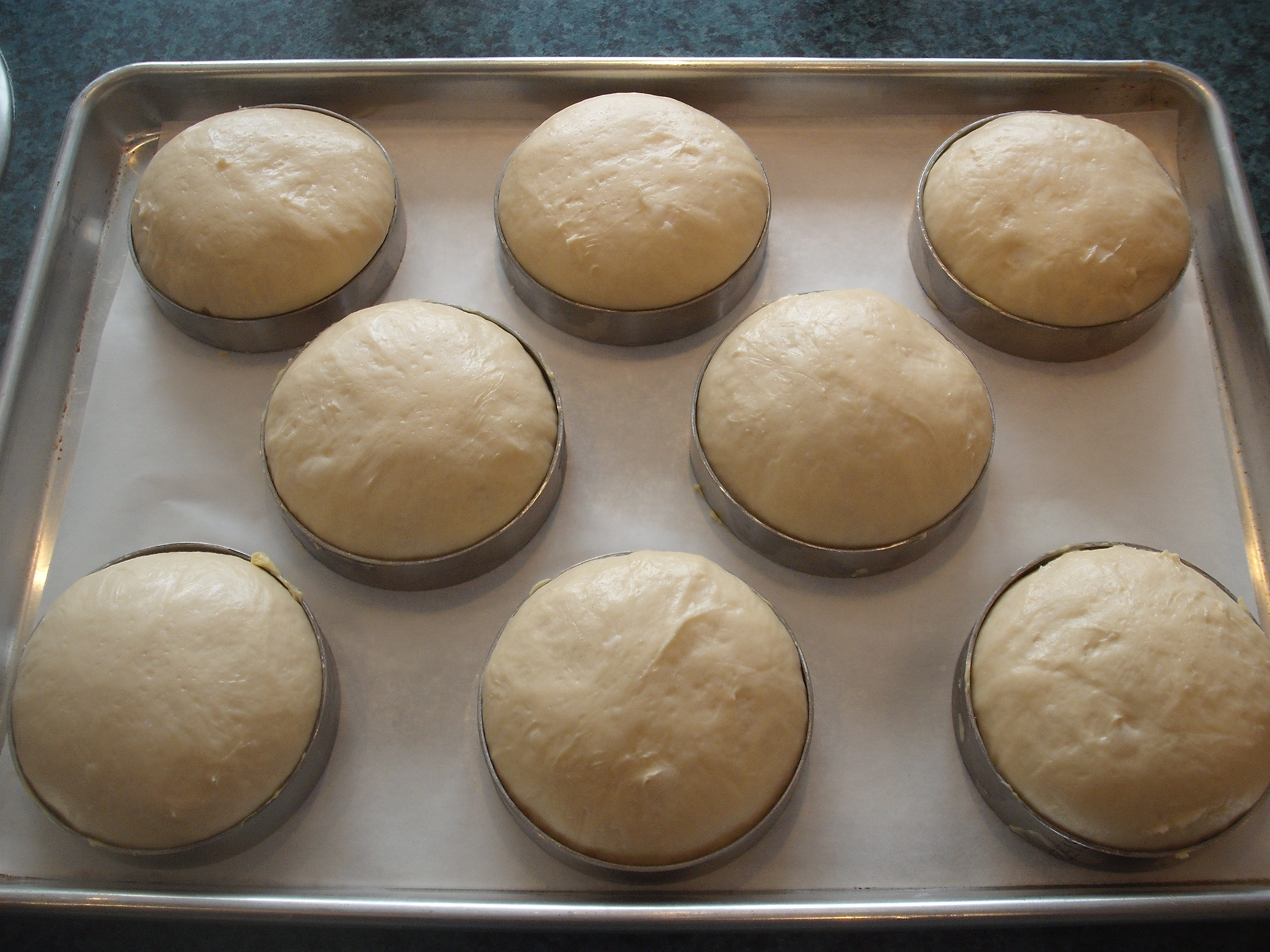 Handmade Brioche Hamburger Buns Te Toroa The Wandering